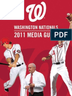 2011 Washington Nationals Media Guide