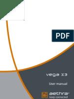 Vega X3 User Manual