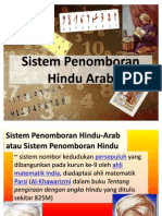 Sistem Penomboran Hindu Arab