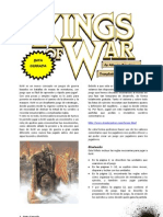 King of War Beta Spanish