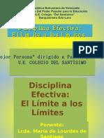 disciplina efectiva