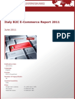 Brochure & Order Form_Italy B2C E-Commerce Report 2011_by yStats.com