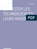 Contester les technosciences