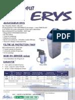 Adoucisseur ménager ERYS E18