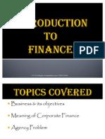 Intro to Finance