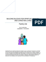 Building Blocks for Spiritual Growth and Christian Living