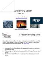 What's Driving Steel - 2011-6