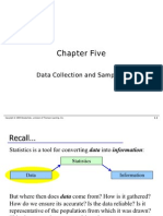 Data Collection and Sampling in Statistics