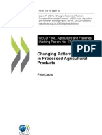 P. Liapis - Changing Patterns of Trade in Processed Agricultural Products [OECD]