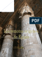 Los Remotos Origenes de Egipto-Albert Slosman