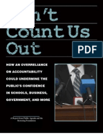 Kettering Accountability Report - Dont Count Us Out (2011)