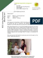 ECO Living Programme @ Lor Lew Lian Audit 3  (Waste) Report