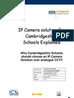 IP Camera Solution for Cambridge Shire Schools