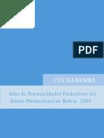 Atlas de potencialidades productivas de Cochabamba