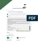 Configuração de balança Filizola PLATINA