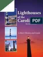 Lighthouses of the Carolinas 2nd edition by Terrance Zepke