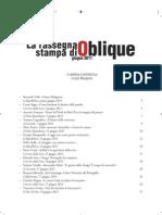 Rassegna stampa di Oblique di giugno 2011