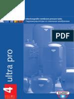Ultra Pro- Pressure Tank