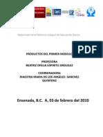 Diplomado Productos Modulo 1 2010-2011 Zona 44
