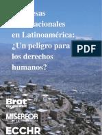 Empresas transnacionales en Latinoamérica