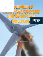 Grounding of Wind Generation Systems