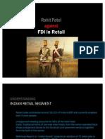 No Retail FDI RohitPatel