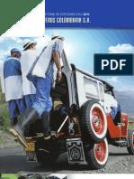 Informe de Sostenibilidad 2010 VENUS COLOMBIANA