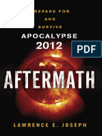 Aftermath by Lawrence E. Joseph - Excerpt