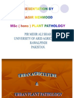 Urban Agriculture and Urban Plant PAthology