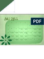 Calendar 07 Greendot