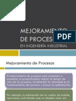 Mejoramiento de procesos_