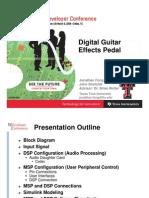 Digital Efect Pedal
