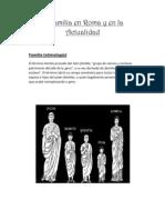 La Familia en Roma y en La Actual Id Ad