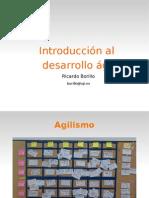 Introducción al desarrollo ágil