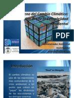 Cambio Climático y Complejidad