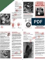 NM Keeping Wildlife Alive Brochure