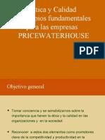 Etica Empresa Price Water House