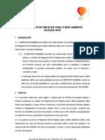 Oi Futuro Meio Ambiente Regulamento Do Edital de Selecao 2010