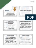 Teoriageraldoprocessoaula3normaprocessualfontedanormaprocessual [Modo de Compatibilidade