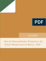 Atlas de potencialidades productivas de Pando