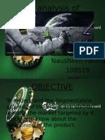 STP Analysis of Calsberg
