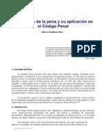 Las Teorías de La Pena y Su Aplicación en El Código Penal