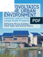 PV in the Urban Enviroment