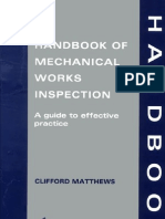 Handbook of Mechanical Works Inspection