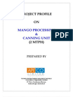 Mango Processing & Canning Unit