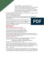 Manual de Mysql