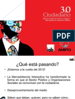 Ciudadano 3.0, Activismo Digital y Mercadotecnia Interactiva Política, AMIPCI