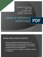 Cinema e poéticas de subjetivação