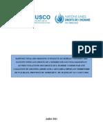 Rapport de l'ONU sur des viols massifs et autres violations des droits de la personne commis au Nord-Kivu en juillet-août 2010