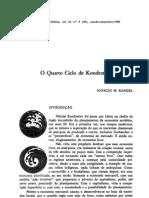 Ignacio M. Rangel - O Quarto Ciclo de Kondratiev - REP